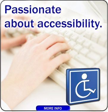 Passionate about accessibility